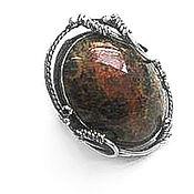 "Украшения handmade. Livemaster - original item Ring ""Petrified coral"" silver 925. Handmade."
