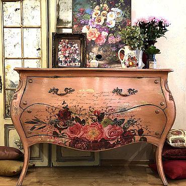 Мебель ручной работы. Ярмарка Мастеров - ручная работа Комод Living Coral. Handmade.
