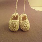 Куклы и игрушки ручной работы. Ярмарка Мастеров - ручная работа Лапти, сумочка для народной куклы. Handmade.