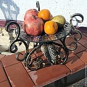 """Сувениры и подарки ручной работы. Ярмарка Мастеров - ручная работа Блюдо для фруктов """"Стамбул"""". Handmade."""