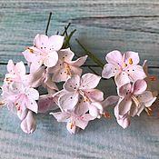 Свадебный салон handmade. Livemaster - original item Hairpins with cherry blossoms. Handmade.