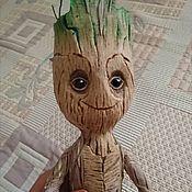 Куклы и игрушки handmade. Livemaster - original item Groot textil toy. Handmade.