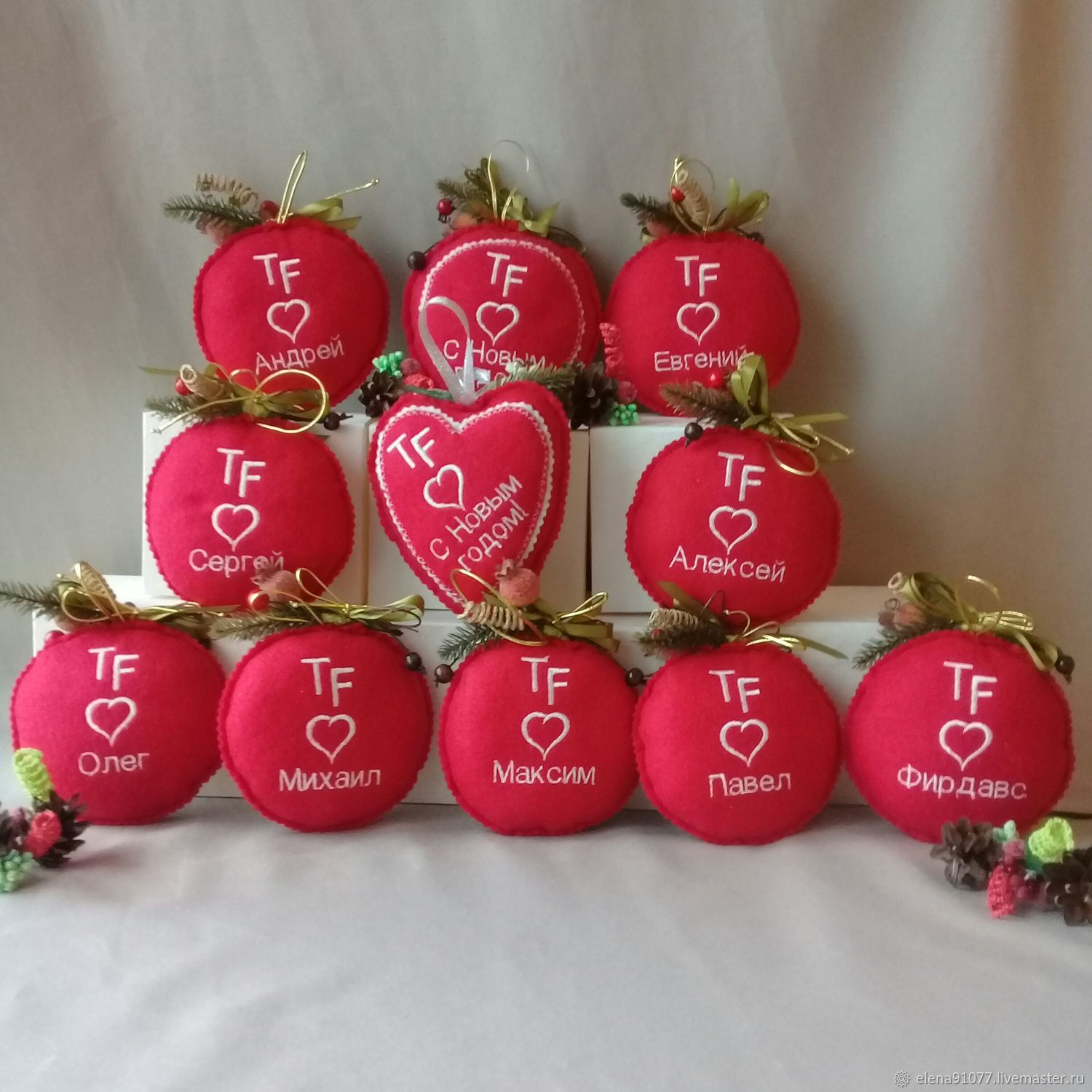 Christmas decorations – shop online on Livemaster with shipping
