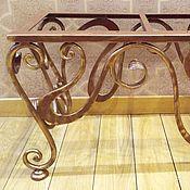 Для дома и интерьера handmade. Livemaster - original item stools: Stool forged