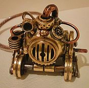 Субкультуры handmade. Livemaster - original item USB flash drive in steampunk style 32Gb. Handmade.
