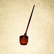 Материалы для творчества handmade. Livemaster - original item Wooden spindle for spinning from natural wood pine B8. Handmade.