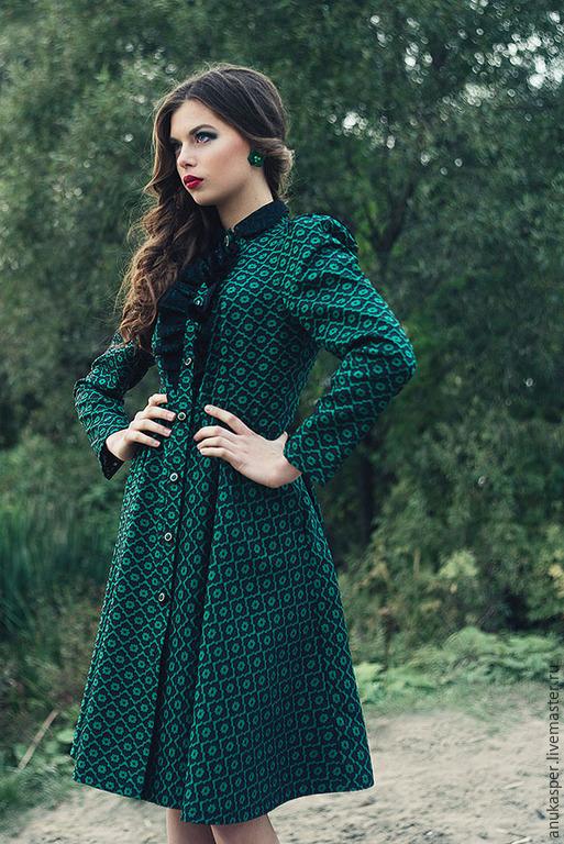 Платье нефрит