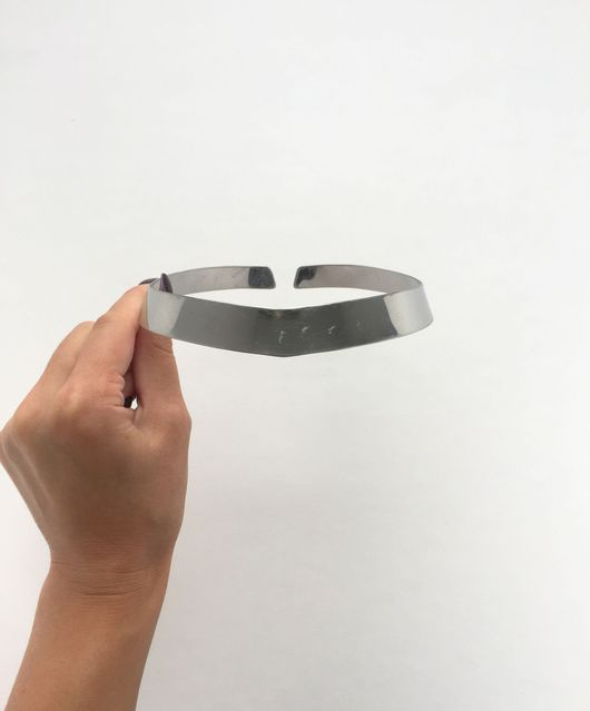 Для украшений ручной работы. Ярмарка Мастеров - ручная работа. Купить Колье-ошейник 1.5 см, стальная основа. Handmade.