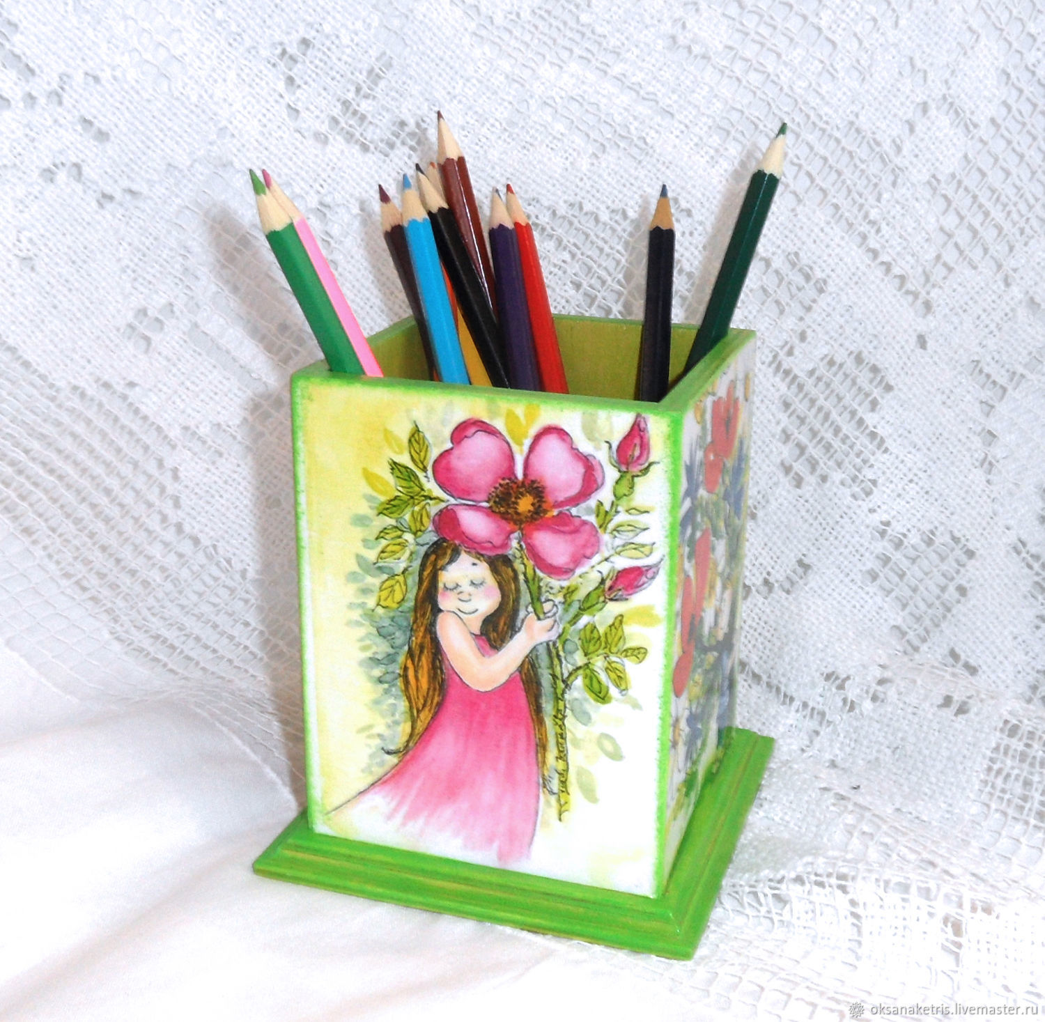 Pencil Holders handmade Livemaster handmade Buy