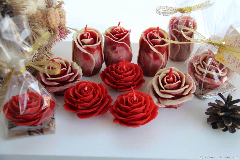 Розы, Свечи, Новосибирск,  Фото №1