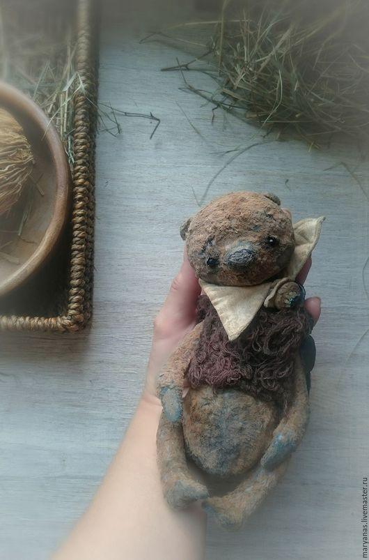 """Мишки Тедди ручной работы. Ярмарка Мастеров - ручная работа. Купить Мишка тедди """"Сентябрюша)))"""". Handmade. Бежевый, мишка тедди"""
