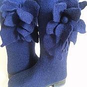 Обувь ручной работы. Ярмарка Мастеров - ручная работа Сапоги валяные женские. Handmade.