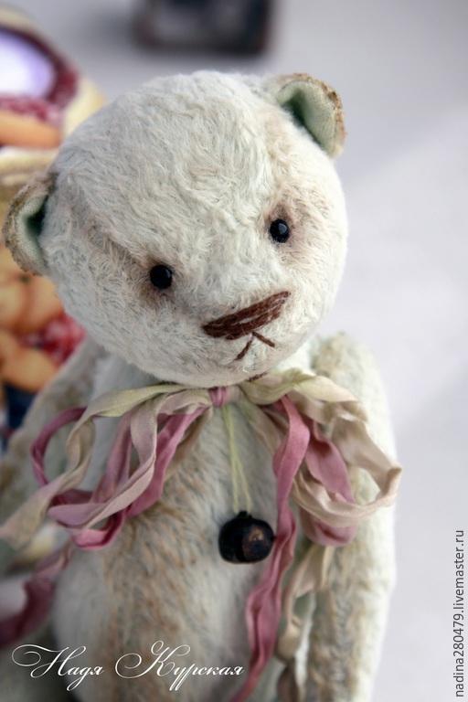 """Мишки Тедди ручной работы. Ярмарка Мастеров - ручная работа. Купить Тедди мишка  """"Фисташкин"""". Handmade. Мятный, мишка мальчик"""