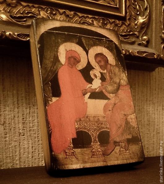Иконы ручной работы. Ярмарка Мастеров - ручная работа. Купить Иконка настольная Православные иконы на дереве. Handmade. Икона, иконы