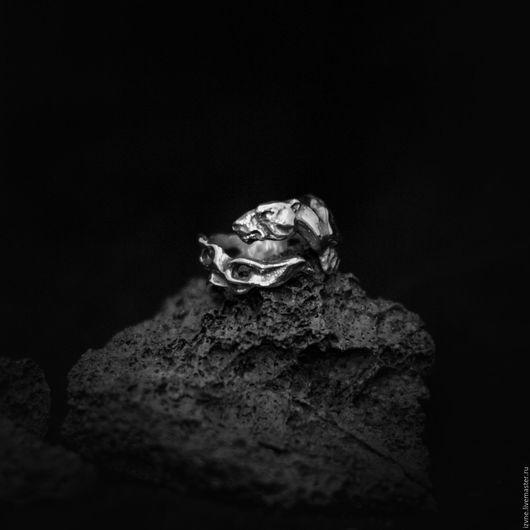 Кольцо `Куница`, серебро или бронза. Автор: Прасковья Власова