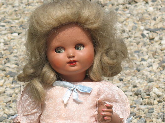 Винтажные куклы и игрушки. Ярмарка Мастеров - ручная работа. Купить кукла из композита. Handmade. Комбинированный, Композит