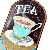 """Для дома и интерьера ручной работы. Ярмарка Мастеров - ручная работа Вешалка """"Cup of tea"""". Handmade."""