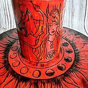 Фен-шуй и эзотерика handmade. Livemaster - original item Hecate`s ritual candlestick. Handmade.