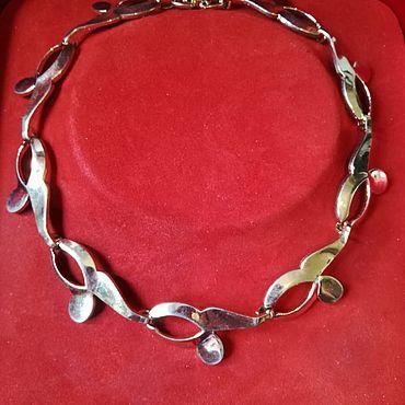 Винтаж ручной работы. Ярмарка Мастеров - ручная работа Tara . Ожерелье. Handmade.