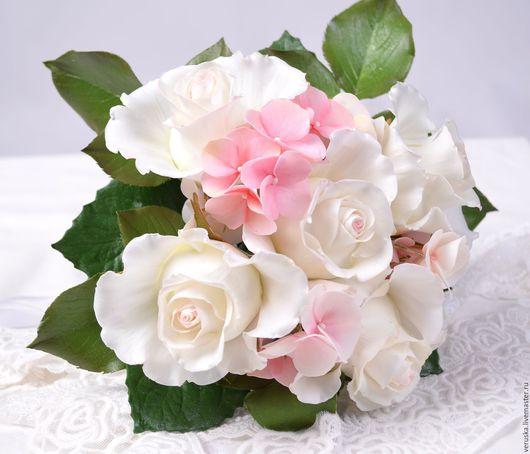 Свадебные цветы ручной работы. Ярмарка Мастеров - ручная работа. Купить Букет для невесты. Handmade. Букет невесты из цветов