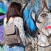 Сумки и аксессуары ручной работы. Ярмарка Мастеров - ручная работа НОВАЯ МОДЕЛЬ кожаный рюкзак МОККО. Handmade.