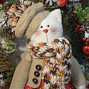 Куклы и игрушки ручной работы. Ярмарка Мастеров - ручная работа РЕЗЕРВ Котик Хемиш. Handmade.