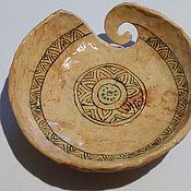 Vases handmade. Livemaster - original item Bowl for knitting ornamental. Handmade.