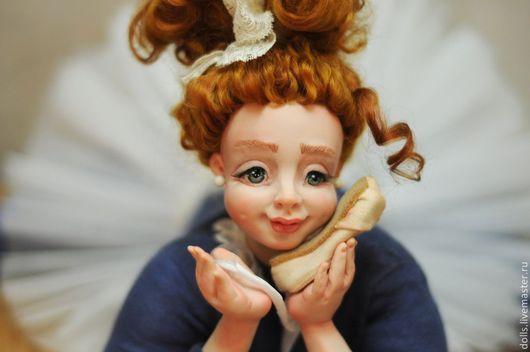 Коллекционные куклы ручной работы. Ярмарка Мастеров - ручная работа. Купить мечты о балете!. Handmade. Синий, ЛивингДолл