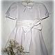 """Одежда для девочек, ручной работы. Ярмарка Мастеров - ручная работа. Купить Льяное платье """"Белый свет"""". Handmade. Белый"""