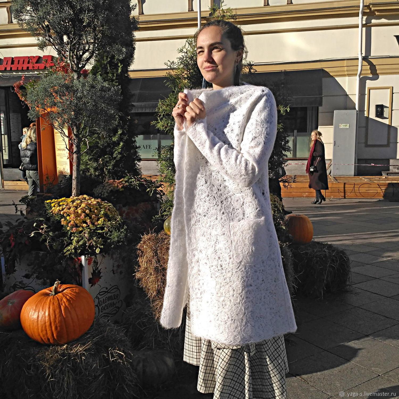 """Женское легкое пальто из шерсти """"Флердоранж"""", Пальто, Москва,  Фото №1"""