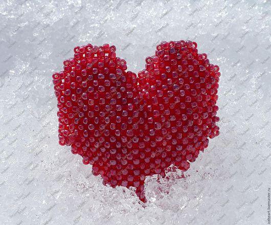 Кулон `Ice heart`