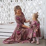 Family look /платье длинное/трикотаж