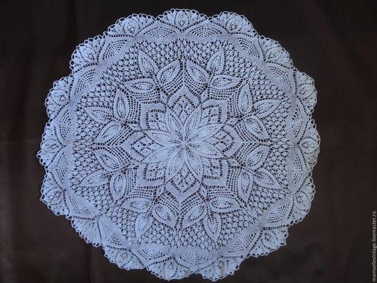 Текстиль, ковры ручной работы. Ярмарка Мастеров - ручная работа. Купить Вязаная салфетка. Handmade. Белый, ажурное, свадебное, винтаж