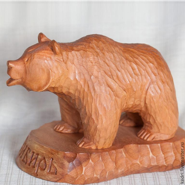 Как сделать медведя своими руками из дерева