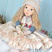 Куклы и игрушки handmade. Livemaster - original item Interior doll Alice. Handmade.