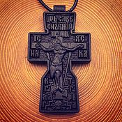 Украшения handmade. Livemaster - original item Cross carved from Rosewood. Handmade.