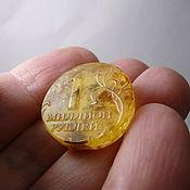 Материалы для творчества handmade. Livemaster - original item Million rubles natural Baltic amber St-102. Handmade.