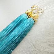 Украшения handmade. Livemaster - original item Tassels earrings