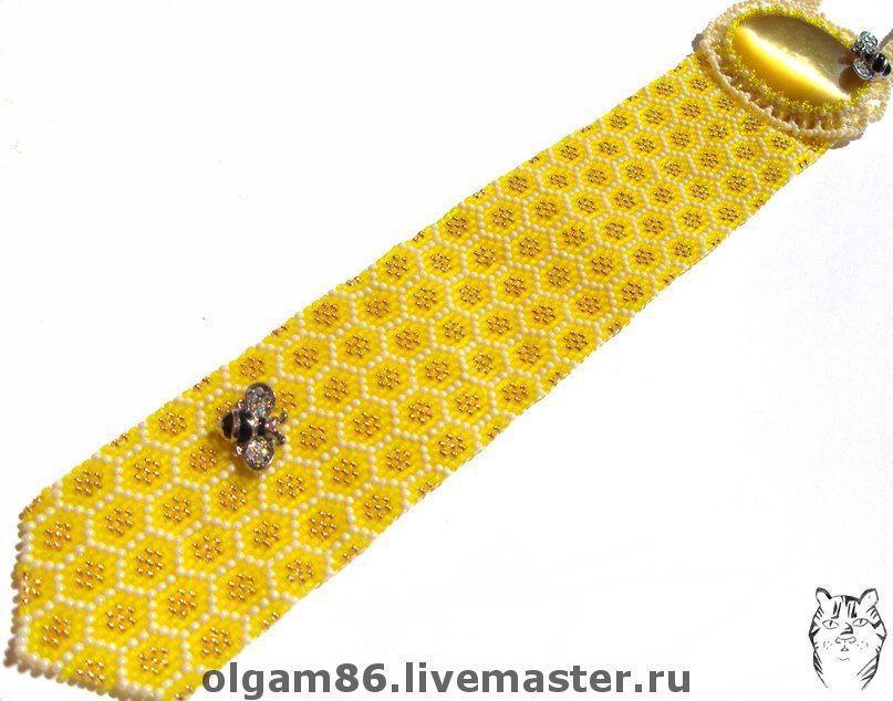tie 'honey rhapsody', Ties, Stupino,  Фото №1