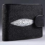Сумки и аксессуары handmade. Livemaster - original item Wallet leather Stingray IMC0026BW. Handmade.