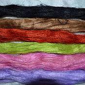 Материалы для творчества ручной работы. Ярмарка Мастеров - ручная работа Набор : волокна льна 70 гр.. Handmade.