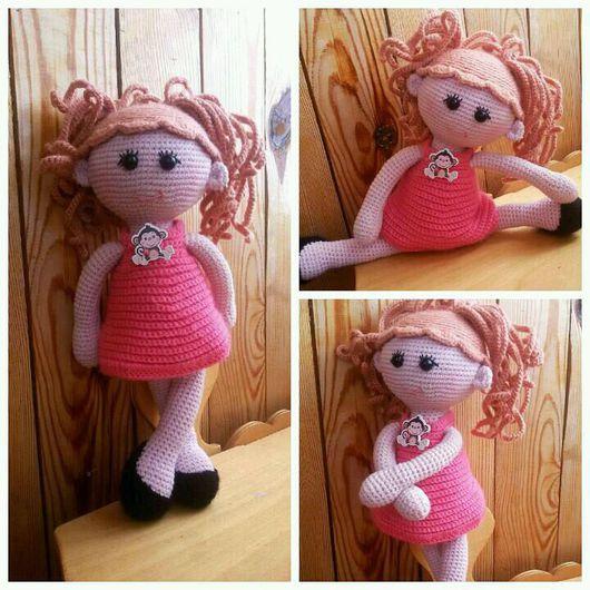 Человечки ручной работы. Ярмарка Мастеров - ручная работа. Купить Кукла Пампошка. Handmade. Кукла ручной работы, для детей, амигуруми
