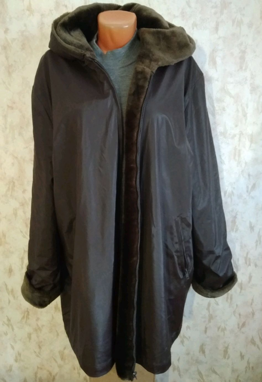 Винтаж: 58-60-62 размер Короткое пальто на меху, Одежда винтажная, Фирово,  Фото №1