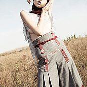 Одежда ручной работы. Ярмарка Мастеров - ручная работа Брюки Tomoe Gozen JVV Warrior s Way collection. Handmade.