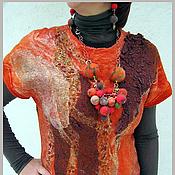 """Одежда ручной работы. Ярмарка Мастеров - ручная работа Платье """"Эспрессо с медом"""". Handmade."""