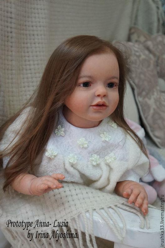 Куклы-младенцы и reborn ручной работы. Ярмарка Мастеров - ручная работа. Купить Прототип Анна-Люсия.. Handmade. Комбинированный