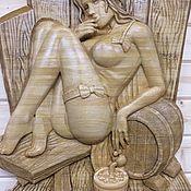Для дома и интерьера handmade. Livemaster - original item The girl in the bath. Handmade.