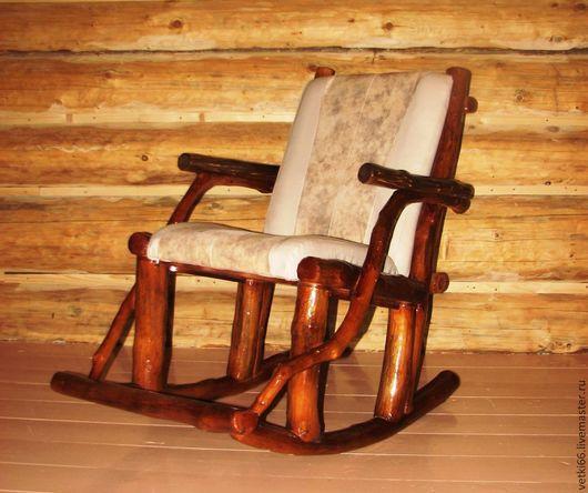 Мебель ручной работы. Ярмарка Мастеров - ручная работа. Купить Кресло-качалка из веток. Handmade. Коричневый, деревянная мебель