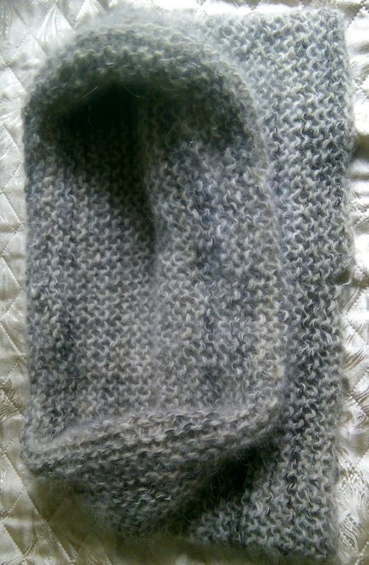 Шарфы и шарфики ручной работы. Ярмарка Мастеров - ручная работа. Купить Вязаный снуд из собачьей шерсти. Handmade. Снуд вязаный