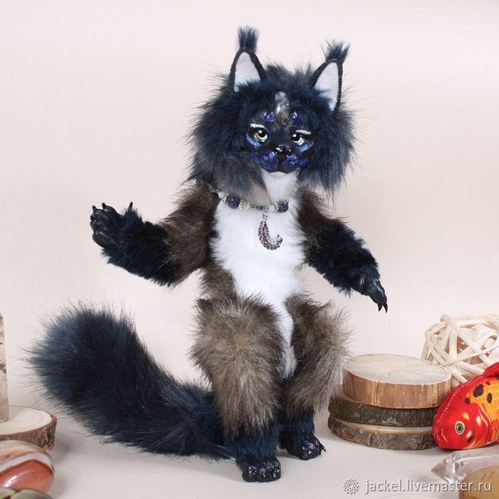ИЩЕТ ДОМ! Хранительница-макси, рысевидная кошка Туллиан, Куклы и пупсы, Москва,  Фото №1